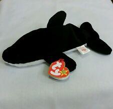 Ty Beanie Baby SPLASH the Killer Whale #4022 w/Errors  PVC 1993, Retired & New