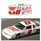 8 Miller American Bobby Hillin Jr 1/64 scale decal AFX Tyco Lifelike Autoworld