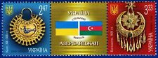 2008. Ukraine. Joint issue with Azerbaijan.Jewels.Strip. MNH