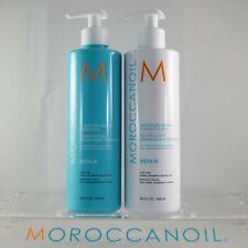 Moroccanoil Moisture Repair Shampoo & Conditioner 16.9 oz / 500 ml Combo Set