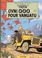 PASTICHE TINTIN - OVNI 666 POUR VANUATU. Cartonné 48 pages couleurs MACEDO EFFEM