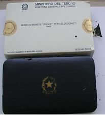 """REPUBBLICA ITALIANA ISTITUTO POLIGRAFICO ZECCA SERIE PROOF """"FRANCESCA"""" 1992  #1#"""
