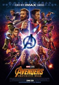 The Avengers Infinity War movie poster  : 11 x 17 inches - Infinity War poster