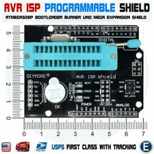 AVR ISP Shield Burning Burn Bootloader ATmega328 Programmer for Arduino UNO R3