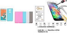 Funda para Asus Zenfone 5 Lite ZC600KL X017DA Cover Gel TPU + Película Vidrio
