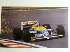 1987 Nelson Piquet's #6 Honda Formula 1 Monaco Print Picture Poster RARE!! L@@K
