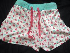 Nuevas señoras pantalones cortos de pijama Corazón Diseño Tg Talla 12/14 BNWT Nightwear Loungewear