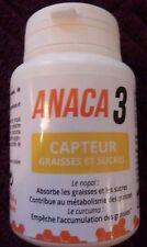 ANACA3 CAPTEUR GRAISSES ET SUCRES  pot de 60 gélules neuf