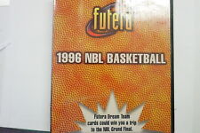 1996 NBL Basketball album/binder RARE Futera