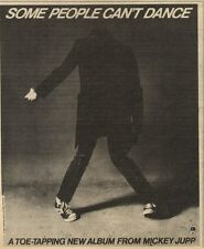 6/3/82Pgn44 Advert: Mickey Jupp Album some People Cant Dance 6x5