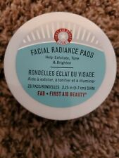 First Aid Beauty (FAB) Facial Radiance Pads - 28 Count - New/ Sealed BoxyCharm