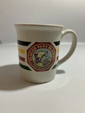Pendleton Woolen Mills Glacier Park Coffee Mug Hudson Bay Stripes Goat Heavy Chp