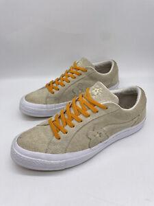 Converse X Tyler The Creator Golf Le Fleur One Star Vanilla Shoes Men's 8.5