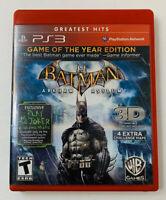 Batman: Arkham Asylum  Game of the Year Edition  Sony PlayStation 3  2010