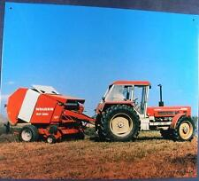 Älteres Blechschild Traktor Schlüter Schlepper gebraucht used