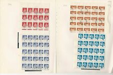 Romania Collection 1982 on 12 Pages, #3102//3117 Used Blocks