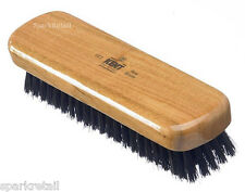 Kent Black Pure Bristle Varnished Cherry Wood LINT / FLUFF / CLOTHES BRUSH CC2