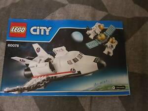 2, Lego Space shuttle set 60078 & Space base 60077