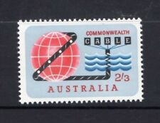 AUSTRALIA 1963-OPENING OF COMPAC COMMONWEALTH PACIFIC CABLE MUH