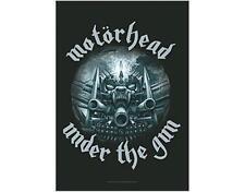 OFFICIAL LICENSED - MOTORHEAD - UNDER THE GUN TEXTILE POSTER FLAG LEMMY