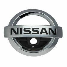 2014-2016 Nissan Rogue Front Grille Emblem Badge Chrome GENUINE OEM BRAND NEW