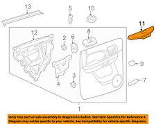 GM OEM Interior-Rear Door-Switch Bezel Trim Left 25909747