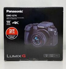 Panasonic Lumix DMC-G7K DSLM Camera 4K HD Recording 16 MP 14-42mm