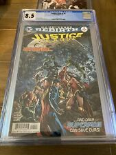 Justice League   #4  CGC 8.5