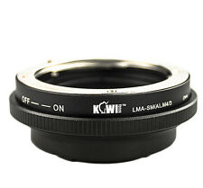 CameraPlus® Lens Mount Adapter - Sony Alpha/Minolta AF lenses to Micro 4/3 Body