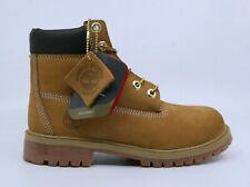 "Timberland TB012909-713 Junior's 6"" WP Nubuck Boots - Wheat - Size 4.5"