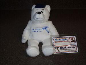 Super Rare Hank Aaron Limited Edition 10th National Atlanta GA Bear 1215/1999