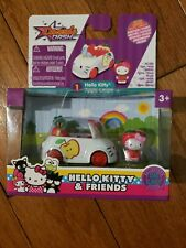 Hello Kitty MY MELODY DONUT TRUCK Vehicle with Micro Figure New 7 Apple coupe