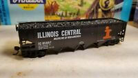 Athearn Roundhouse weathered Illinois central coal  hopper car,