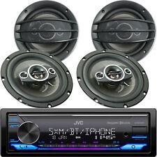 JVC KD-X370BTS Digital Media Receiver w/ Bluetooth USB + 4x Speakers 800W 6.5