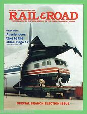 #D213. RAIL & ROAD MAGAZINE Jan/Feb 1995, PUBLIC TRANSPORT UNION