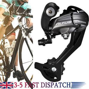 Shimano Altus RD-M370 9 Speed Rear Mech Derailleur long Black Mountain Bike