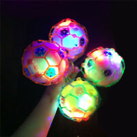 GT- Creative LED Light Music Jumping Football Bouncing Dancing Ball Kids Toys Be