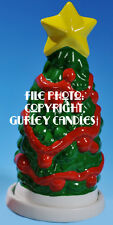 """Gurley """"Saf-T-Glo""""  Candle Lamp - Christmas Tree"""