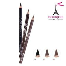 BOURJOIS EYEBROW PENCIL WITH BRUSH CHOOSE YOUR SHADE- INCLUDE 3 NEW COLORS