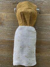 Vintage BARBIE Fashion - On The Avenue #1644 - Gold & Ivory Sheath Dress MINTY