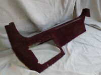 Interior Door Sill Trim Panel 1993 Ruby Red OEM Corvette C4 RH Passenger