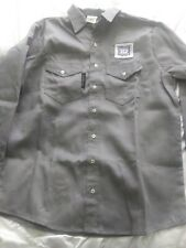 Mens Large Crude FR Helmerich & Payne Oil And Gas Rig Work Shirt NWOT