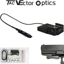 Vector Optics Sub Compact Thin Micro Adjustable Red Laser Sight for Pistol GLOCK