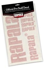 Rapala Decals Assortment Windshield Fishing Tackle Stickers