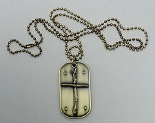 DOG TAG-Wooden Cross
