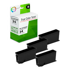 Series 33 KNTYH/_4PK SuppliesMAX Compatible Replacement for Dell V525W//V725W Black Inkjet 4//PK-750 Page Yield
