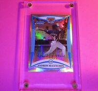 2008 Bowman Chrome Draft REFRACTOR Rookie RC Andrew McCutchen Pirates