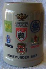 Vintage German Dortmunder Beer Crock Stein Mug - circa 1960 - Sanahed #1098