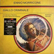 """ENNIO MORRICONE """"GIALLO CRIMINALE"""" lp edizione limitata vinile giallo RSD"""