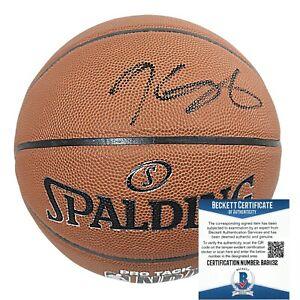 Kevin Durant Nets Signed NBA Basketball Warriors USA Proof Beckett BAS Autograph